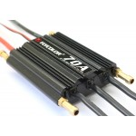 Flycolor 70A Brushless ESC Speed Control Support 2-6S Lipo BEC 5.5V/5A for RC Boat