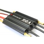 Flycolor 90A Brushless ESC Speed Control Support 2-6S Lipo BEC 5.5V/5A for RC Boat