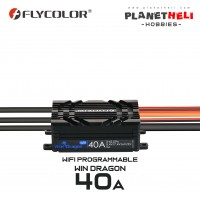 Flycolor WinDragon 40A ESC Speed Control for RC Helicopter RC Airplane WIFI Smart Connect Setting