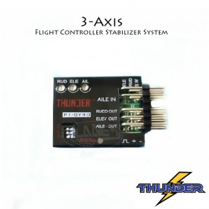 3-Axis Stabilizer System Gyro For Fixed Flying Wing Airplane FPV