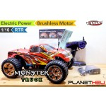 HSP RC Monster Truck BRONTOSAURUS BRUSHLESS 4wd FULL Propo 1/10 Scale EP RTR Ready To Run with 2.4Ghz Remote Control