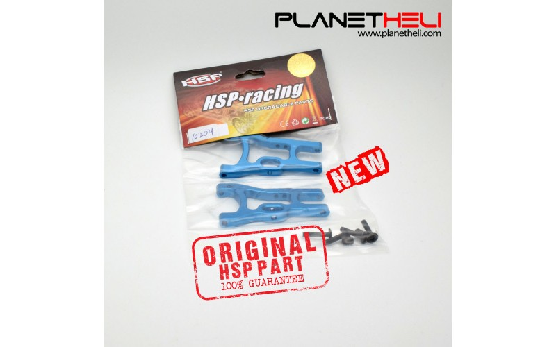 HSP Part Upagrade Rear Lower Suspension Arm Aluminum 102021 1:10 RC Racing Drift Car