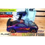 HSP RC Drift Car Flying Fish PRO 4wd BRUSHLESS MOTOR FULL Propo 1/10 Scale EP RTR Ready To Run 2.4Ghz RC