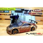 HSP RC Drift Car Flying Fish 4wd FULL Propo 1/10 Scale EP RTR Ready To Run with 2.4Ghz Remote Control