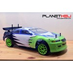 HSP RC Car PEACESETTER Two Speed NITRO 4wd FULL Propo 1/10 Scale RTR Ready To Run with 2.4Ghz Remote Control