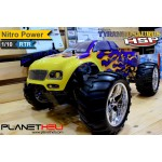 HSP RC Monster Truck TYRANNOSAURUS 4wd FULL Propo 1/10 Scale Nitro Power RTR Ready To Run with 2.4Ghz Remote Control