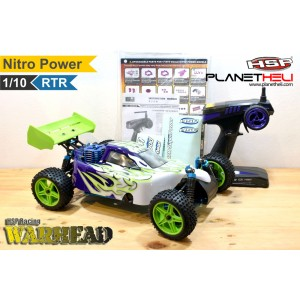 HSP RC Buggy WARHEAD Two-Speed 4wd FULL Propo 1/10 Scale Nitro Power RTR Ready To Run with 2.4Ghz Remote Control