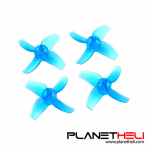 Happymodel 40mm 4-Blade Propeller PC Props 1.0mm Hole CW CCW for FPV Racing Drone