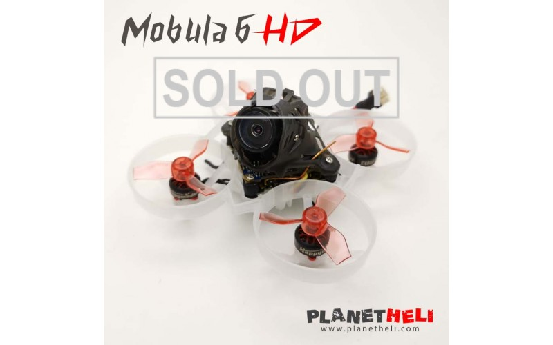 FRSKY Happymodel Mobula6 HD 65mm FPV Racing Drone with 4in1 Crazybee F4 Lite Runcam Nano3 Camera