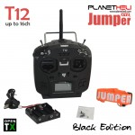 Jumper T12 OpenTX up to 16ch transmitter Radio with JP4-in-1 Multi-protocol RF Module (Black)