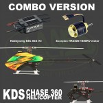 KDS CHASE 360 Combo 1 WITHOUT BLADES (2016 new tail design)
