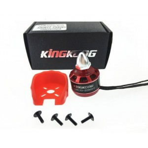 KINGKONG 1806 v2 2280kv 2-3s cw/ccw with guard bracket for 180-210 RC Racing Quadcopter CW/CCW