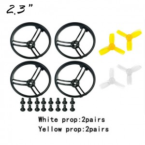 Original 4PCS Kingkong 2.3 Inch Propeller Protective Guard with 4 Pairs 2345 Propeller