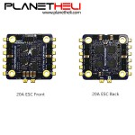 LDARC / Kingkong KK Flytower Part 20x20mm 20A BLheli_S 2-4S DShot600 4 In 1 ESC for RC Multirotor