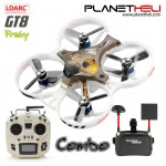 LDARC TINY GT8 8.76cm Micro Racing Drone with Jumper T12 and Goggle Vr006 RTF (Ready to Fly)