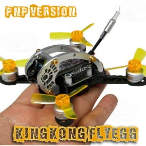 KINGKONG Flyegg 100 PNP FPV Racer Mini Brushless Drone Quadcopter