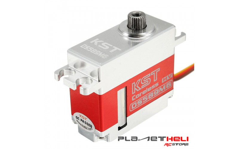 KST DS589MG Cyclic Medium size Digital Servo For Goblin 500 or 500 Class Helicopter