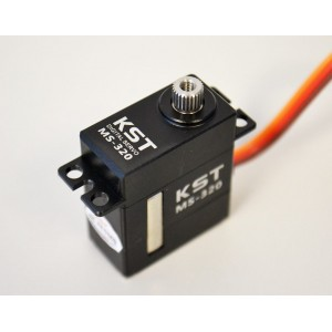 KST MS-320 CNC Magnetic Sensors Micro Swashplate Servo for 450 RC Helicopter