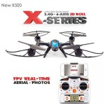 MJX X500 2.4G 4CH 6Axis 720P FPV Set Fit Headless Mode One Key Return RC Quadcopter RTF