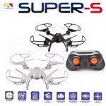 Mould King Super-S 33041 2.4GHz 6-axis RC Quadcopter with Barometer Altitude Hold (Black/White)