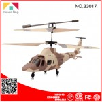 Military Radio Control 3.5 Channel Mini RC Helicopter with Gyro