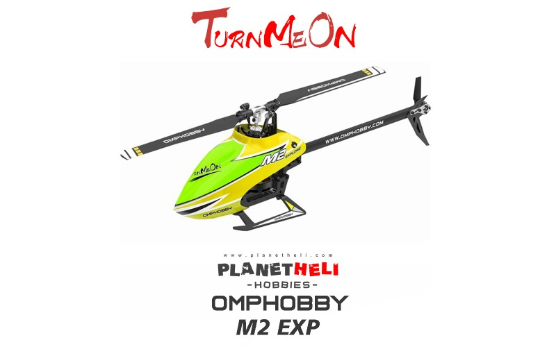 OMPHOBBY M2 EXP 6CH 3D Flybarless Dual Brushless Motor Direct-Drive RC Helicopter BNF