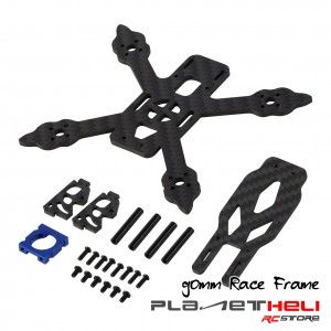 Happy Model Carbon Fiber Micro Racing Drone Frame 90mm Wheelbase