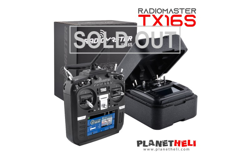 RadioMaster TX16S Hall Sensor Gimbals 2.4G 16CH Multi-protocol RF System OpenTX Mode2