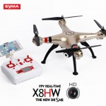SYMA X8HW FPV RC Drone with WiFi HD 2MP Camera Real-time Sharing 2.4G 4CH 6-Axis Quadcopter with Altitude Function