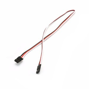 30cm 22AWG Quadcopter Servo Extension Lead JR Male to Male Connector Cable
