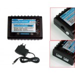 Balance charger with power supply(7.4V/11.1V)