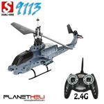 Double Horse 9113 RC Helicopter 2.4GhZ, 3.5CH Single Blade Gyro