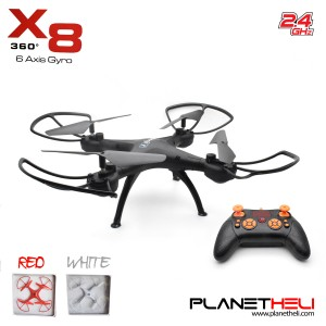 X8 RC Drone 4CH 2.4GHz 6 Axis Gyro 360 RC Quadcopter Mode 2 RTF