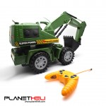 8020 RC Car 5CH LED Wheel Excavator Charging RTR Remote Control Truck Construction Vehicle Cars For Kids Toys