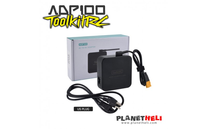 ToolkitRC - ADP100 100w 20v 5A Power Supply Unit with XT60 Output