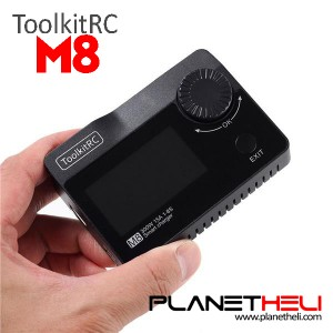 Functional ToolkitRC M8 DC 300W 15A Battery Balance Charger Discharger for 2-8S Lipo Battery