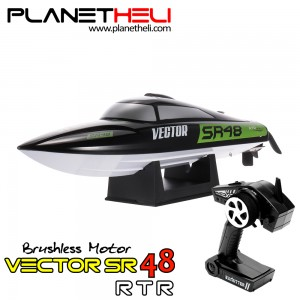 Volantex rc Boat 797-3 Vector SR48 Brushless motor 2.4GHz 40km/h High Speed Racing Boat (RTR)