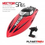 Volantex Vector SR65 65cm 55km/h Brushless High Speed ​​RC Boat - Red (ARTR)