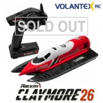 Volantex CLAYMORE 2.4G Brushed RC Racing Boat V795-2