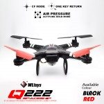 Wltoys Q222-G 5.8G FPV 2.0MP Camera RC Quadcopter UFO Barometer Altitude Hold + 5.8G FPV Display