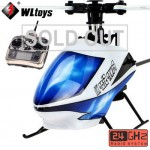 WLtoys V977 Power Star X1 6CH 2.4G Brushless RC Helicopter RTF