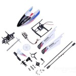 WLtoys V911-Pro V911-V2 Helicopter Accessories Bag with Motors/Screws