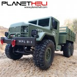 WPL B-16 1:16 Remote Control Military Truck 6 Wheels Drive Off-Road RC Car