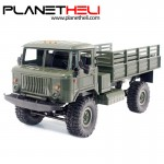 WPL WPLB-24 1/16 RTR 4 WD RC Military Truck 2.4GHZ RC Toys Models