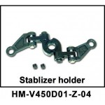 Walkera NEW V450D01 RC Helicopter Parts Stabilizer Holder