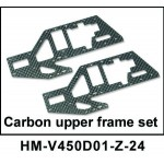 Walkera NEW V450D01 RC Helicopter Spare Parts Carbon Upper Frame