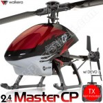 Walkera Dragonfly Master CP 6CH CCPM Flybarless RC Helicopter BNF 2.4GHz Without Transmitter
