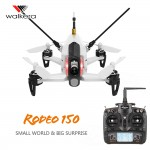 Walkera Rodeo 150 RTF - 5.8G 40CH 600TVL Night Vision Camera 3D Aerobatic Mini FPV Racer Mode 2