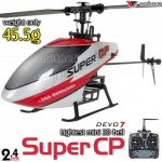 Walkera Dragonfly Super CP 6CH Flybarless CCPM RC Helicopter RTF 2.4GHz w/ Devo 7 Transmitter