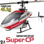 Walkera Dragonfly Super CP 6CH Flybarless CCPM RC Helicopter BNF 2.4GHz w/o transmitter